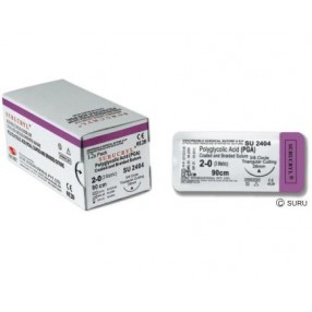 Synthetic absorbable sutures